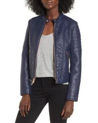 Marc New York - Blakely Faux Leather Jacket - Lyst
