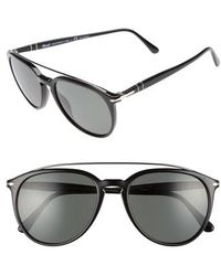 Persol - Sartoria 55mm Polarized Sunglasses - - Lyst