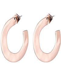 Alexis Bittar - Liquid Metal Orbit Hoop Earrings - Lyst