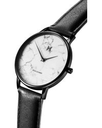 MVMT - Boulevard Leather Strap Watch - Lyst