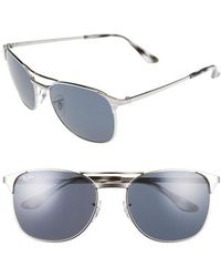 692664dcc7 Lyst - Ray-Ban Rb3429m 55 Signet Mirror Collection in Gray for Men