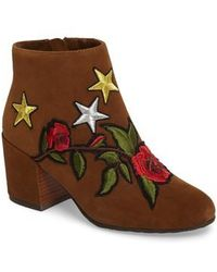 Gentle Souls - Blaise Patches Bootie - Lyst