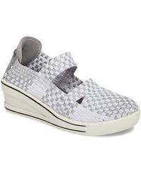 Bernie Mev | Frontier Woven Mary Jane Wedge | Lyst