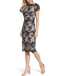 Maggy London | Lace Sheath Dress | Lyst