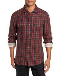 Jeremiah - Boulder Regular Fit Reversible Plaid Shirt - Lyst