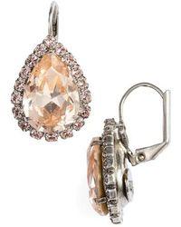 Sorrelli - Reed Crystal Drop Earrings - Lyst