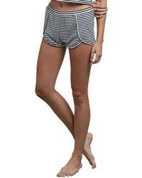 Volcom | Lil Stripe Shorts | Lyst