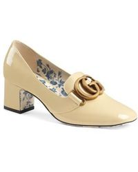 Gucci - Victoire Loafer Pump - Lyst