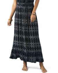 Rip Curl - Sari Maxi Skirt - Lyst