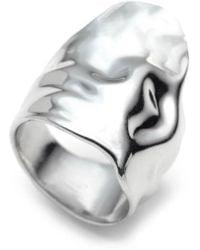Alexis Bittar - Crumpled Asymmetric Statement Ring - Lyst