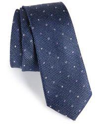 Calibrate - Brubeck Neat Silk Blend Tie - Lyst