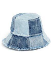 BCBGMAXAZRIA - Patched Denim Bucket Hat - Lyst