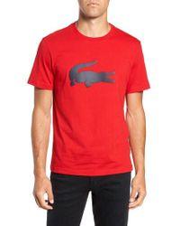 Lacoste - Crocodile T-shirt - Lyst