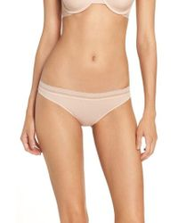 On Gossamer - Next To Nothing Hip-g Thong - Lyst