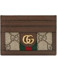 408fee32364d Gucci Courrier Gg Supreme Passport Case - Lyst