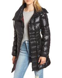 Sam Edelman - Asymmetrical Puffer Jacket - Lyst
