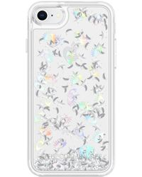 Rebecca Minkoff - Galaxy Icon Glitterfall Iphone 7/8 & 7/8 Plus Case - - Lyst