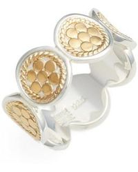 Anna Beck - Signature Multi Disc Band Ring - Lyst