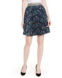 Ted Baker - Motrie Pleated Miniskirt - Lyst