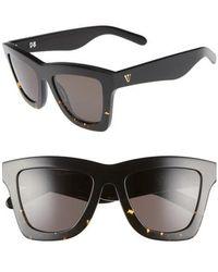 Valley Eyewear - 'db' 49mm OverBlack To Tortoise/ Black - Lyst