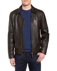Bonobos | Year Round Leather Jacket | Lyst