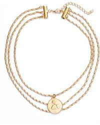 Frasier Sterling - Sweets Prelayered Angel Coin Necklace - Lyst