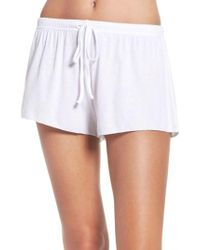 Barefoot Dreams - Barefoot Dreams Luxe Lounge Shorts - Lyst
