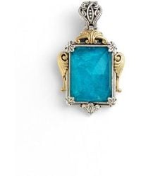 Konstantino | 'iliada' Rectangle Pendant | Lyst