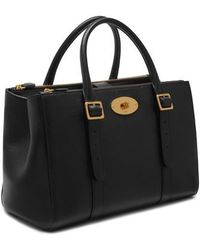 Mulberry | Bayswater Double Zip Leather Satchel | Lyst