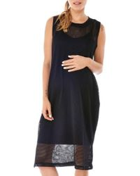 Imanimo - Sporty Mesh Maternity Dress - Lyst