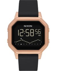 Nixon - Siren Digital Watch - Lyst