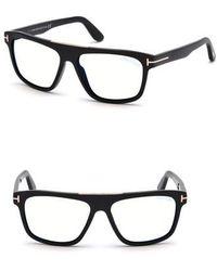 lyst boss 57mm retro sunglasses shiny black grey gradient in Oakley Gascan White tom ford cecilio 57mm sunglasses shiny black lyst