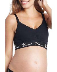 YOU LINGERIE - Amaris Wireless Maternity/nursing Bra - Lyst