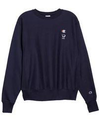 Champion - Snoopy Unisex Sweatshirt - Lyst
