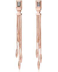 Monica Vinader - Baja Deco Fringe Earrings - Lyst