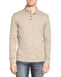 Jeremiah - 'mitch' Double Faced Mock Collar Shirt - Lyst