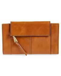 Hobo - Pivot Continental Leather Wallet - Lyst