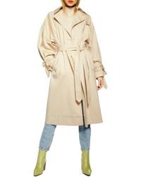 TOPSHOP - Ultimatetrench Coat - Lyst