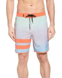 Hurley - Phantom Static Block Party Board Shorts - Lyst
