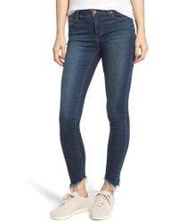 Articles of Society - Sammy Fray Hem Skinny Jeans - Lyst