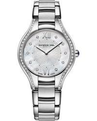 Raymond Weil - Noemia Diamond Bracelet Watch - Lyst