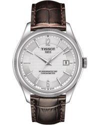 Tissot - Ballade Powermatic 80 Cosc Bracelet Watch - Lyst