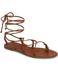 e4b966b28f5d10 Madewell - The Boardwalk Lace-up Sandal - Lyst