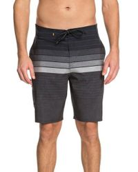 Quiksilver | Admiral Stripe Board Shorts | Lyst