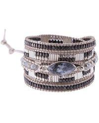 Nakamol - Beaded Agate Wrap Bracelet - Lyst
