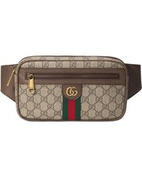 0364ed63dcd Lyst - Gucci GG Canvas Belt Bag in Natural for Men