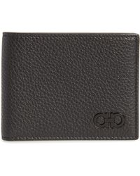 Ferragamo - Leather Wallet - - Lyst