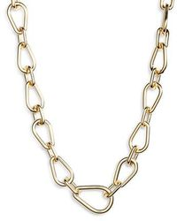 Vince Camuto - Mixed Link Necklace - Lyst