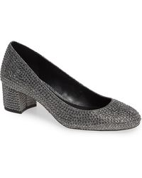 1e658f90199c Lyst - Michael Michael Kors Arabella Kitten Pump in Gray