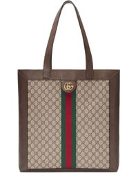 Gucci - Supreme Large Shopper Tote & Pouch - Lyst